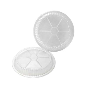 "Chef Elite - Dome Plastic Lids (500 units) - 7"" dia."