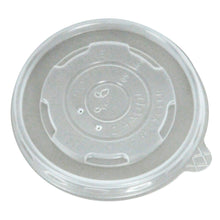 Load image into Gallery viewer, 8 OZ COMPOSTABLE PLA SOUP BOWL/HOT CUP LIDS - 1000 units