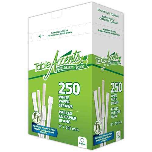 Eco-Friendly Wrapped Paper Straws (2500 units) - 8