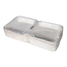 Load image into Gallery viewer, 9x9 Inch Bagasse Food Container - 1 sleeve/200, 1 sleeve/50