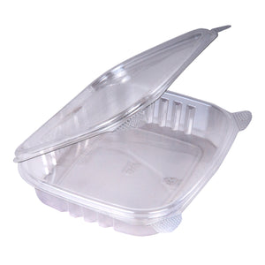 12oz Hinged Deli Containers - 200 Pcs