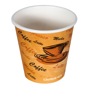 6oz Printed Hot Cups - 1000 Pcs