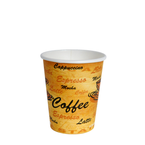 12oz Printed Hot Cups - 1000 Pcs
