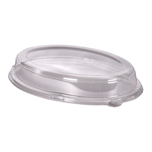 Lids for Oval Bagasse Tray - 500 Pcs