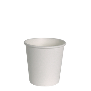 4oz White Hot Cups - 1000 Pcs