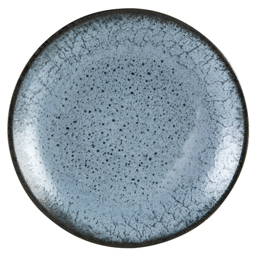 Aura by Porcelite. Glacier Coupe Plate, 12.25' / Large