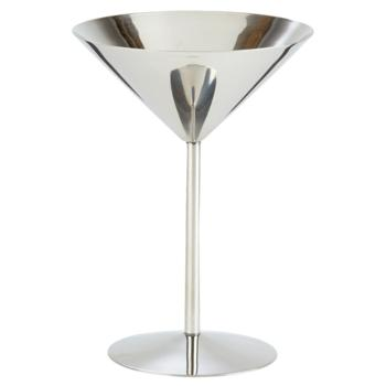 Stainless Steel Martini Stemmed Bowl Tall (Small)