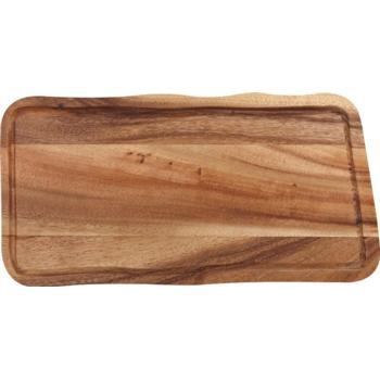 Acacia Wooden Board with Groove (15.75'' x 8'')