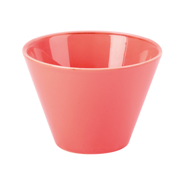 Seasons by Porcelite. Coral Conic Bowl, 7oz