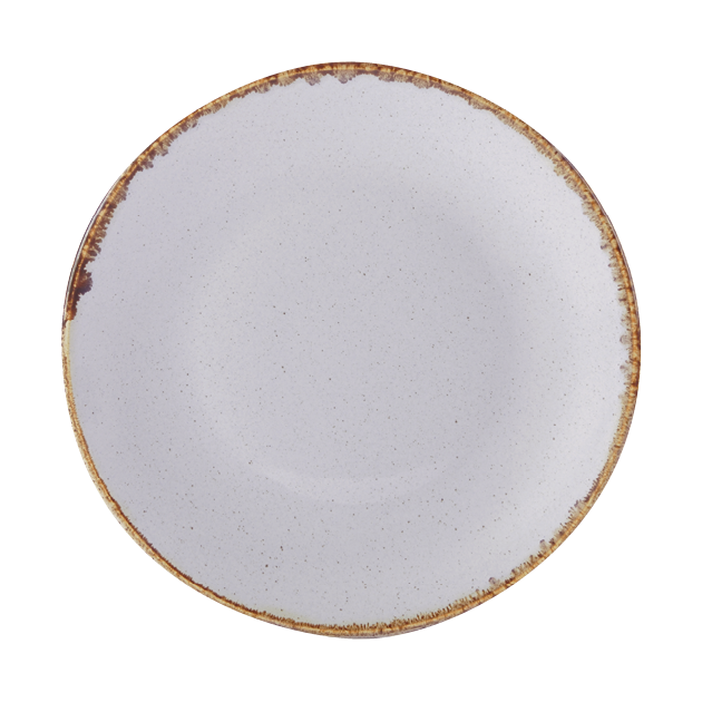 Seasons by Porcelite. Stone Coupe Plate, 11