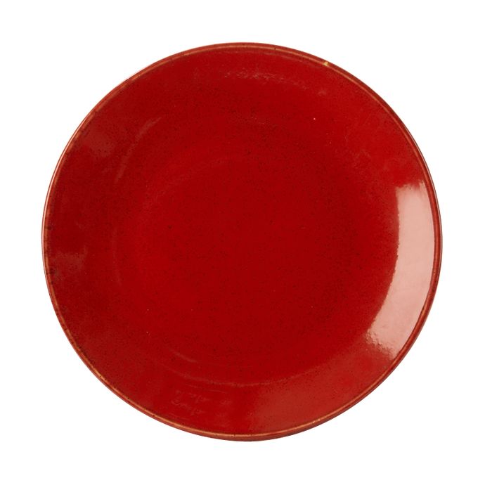 Seasons by Porcelite. Magma Coupe Plate, 11