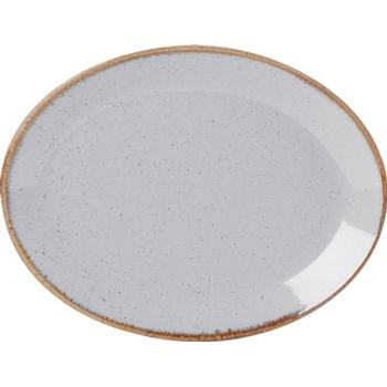 Seasons by Porcelite. Stone Oval Plate