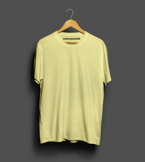Butter Yellow Plain | T-Shirts