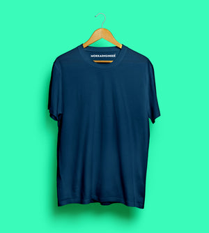 Navy Blue Plain | T-Shirts