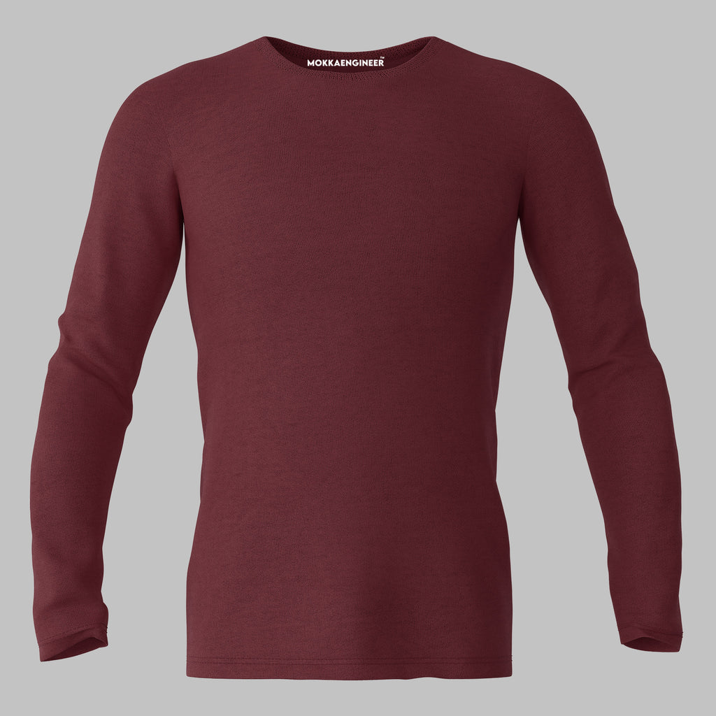 Maroon Plain | Full Sleeve