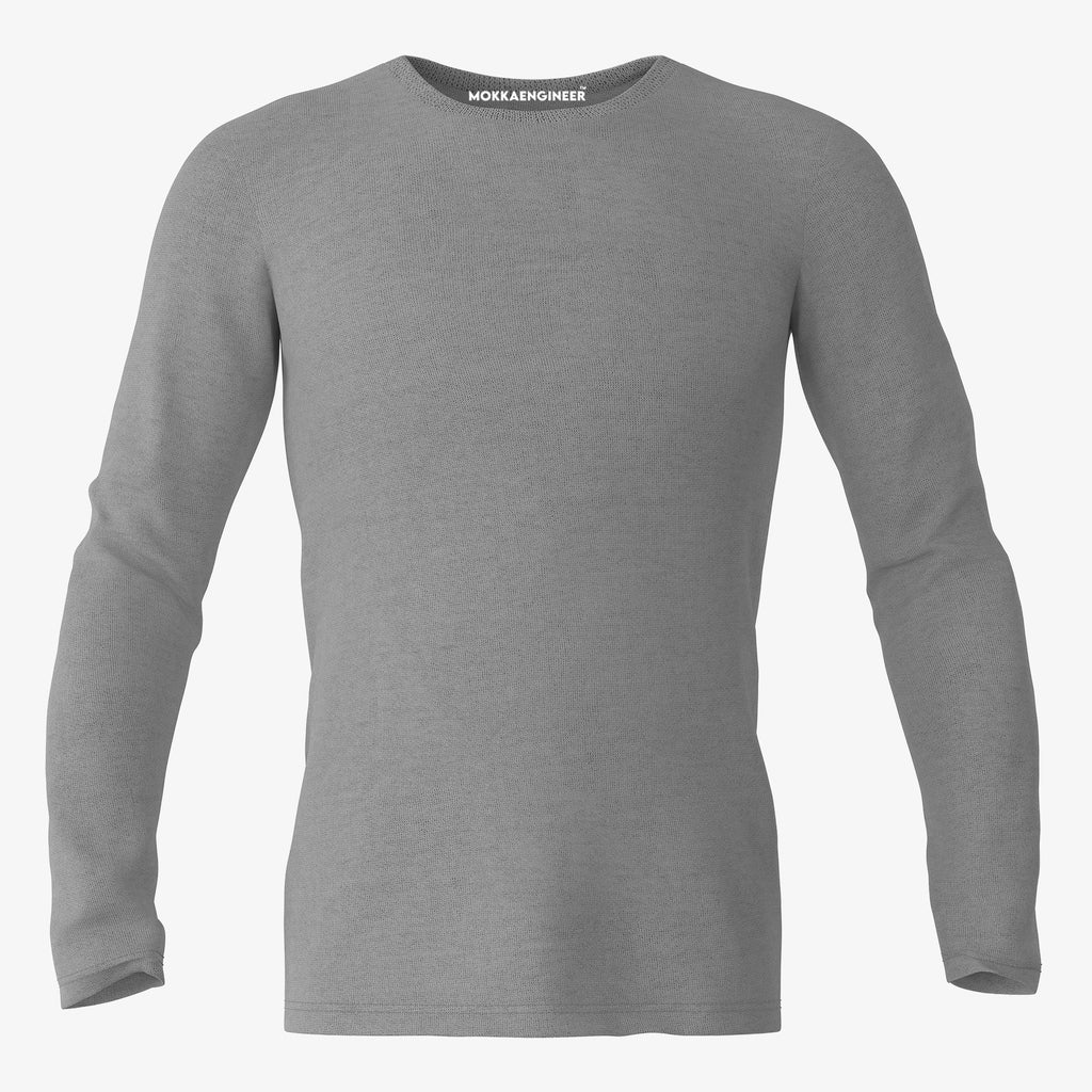 Melange Grey | Full Sleeve