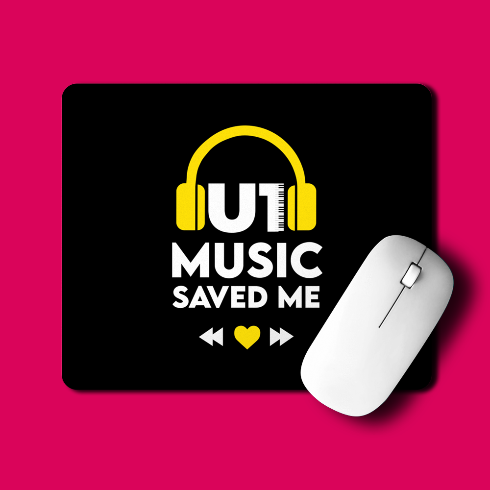 U1 Music Saved Me | Mouse Pads