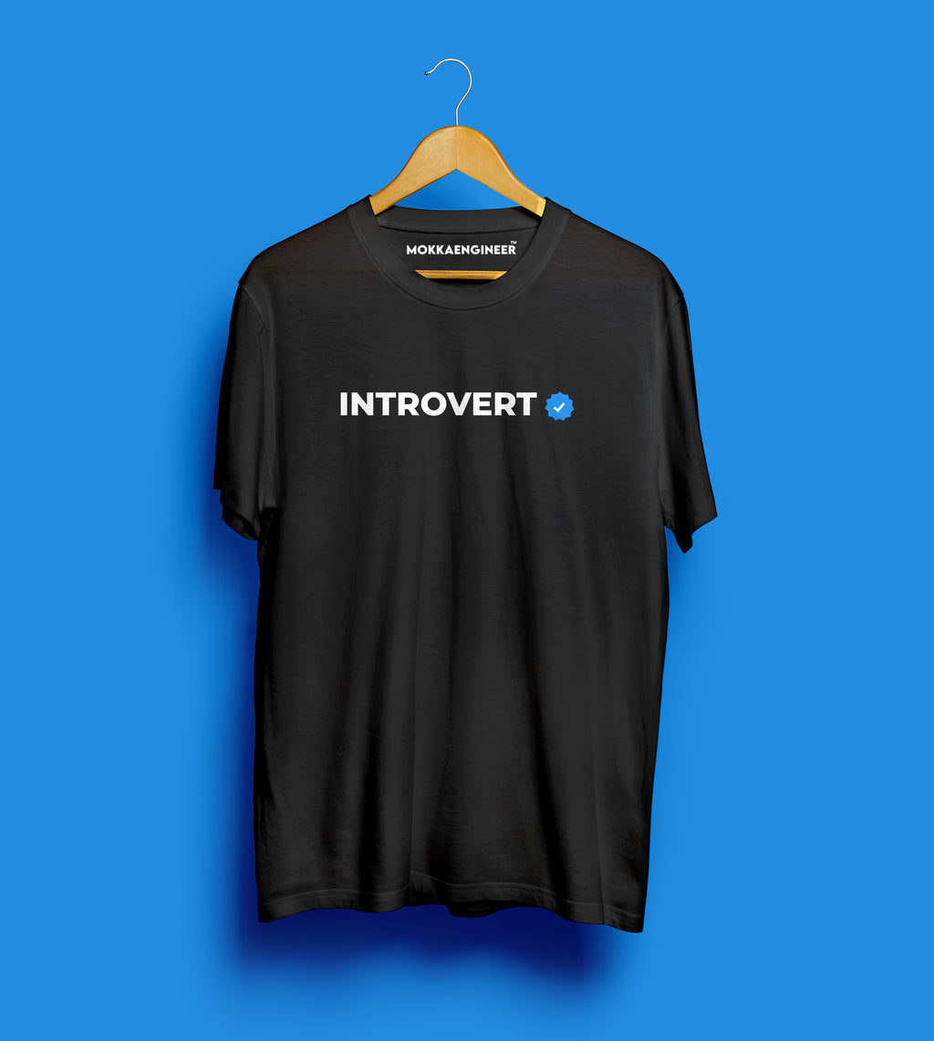 Introvert Verified | T-Shirts (Normal Edition)