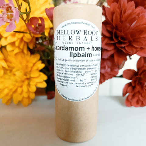 Cardamon & Honey Lip Balm