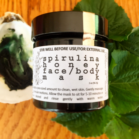 Spirulina Honey Face/Body Mask