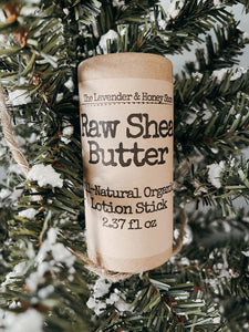 Vegan Raw Shea Butter All Natural Lotion Stick