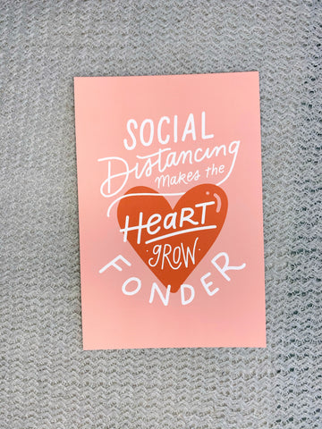 Social Distancing Makes the Heart Grow Fonder
