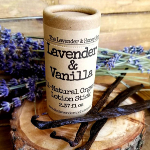 Lavender & Vanilla All Natural Lotion Stick