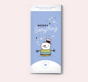 Merry Everything! Chocolate Card