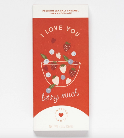 I love you Berry Much Chocolate Card