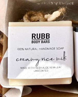 Creamy Rice Milk Soap Bar