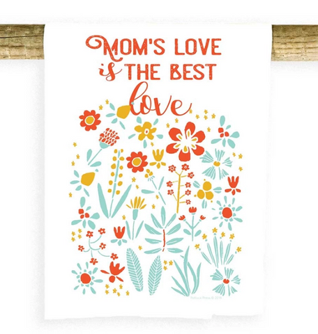 Mom's Love Dish Towel
