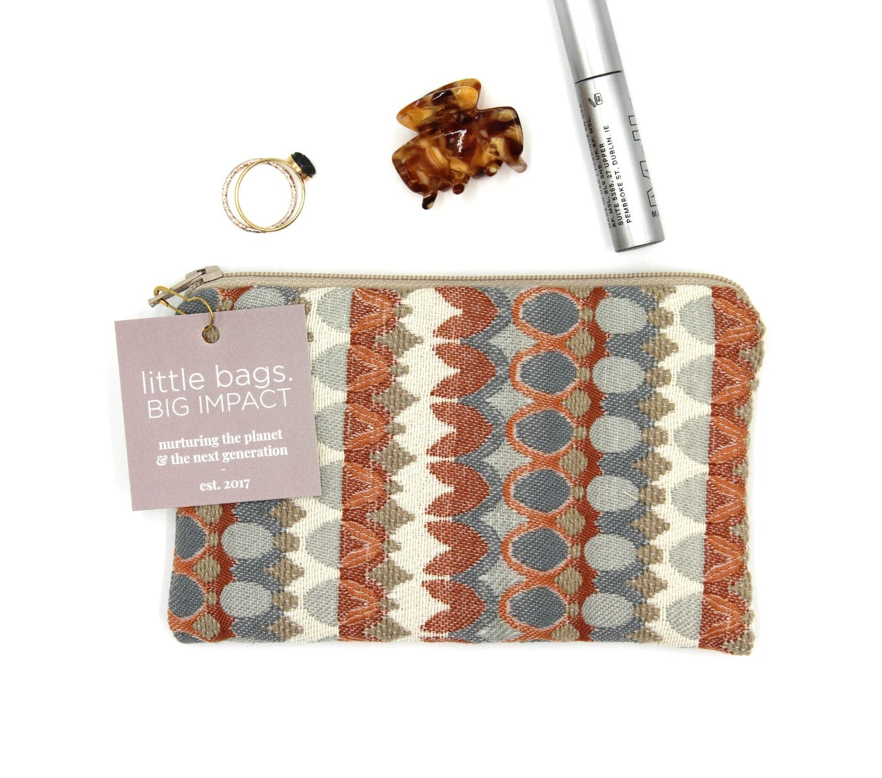 Patterned Spring Mini Bag