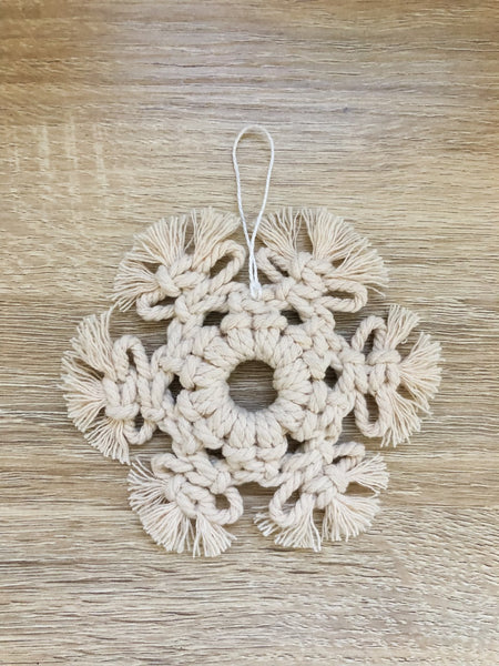 Macrame Ornament