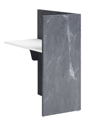 Marble Sorrento Reception Counter