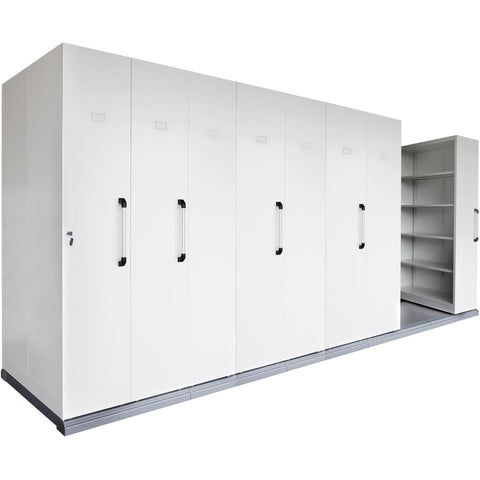 Rapidline Compactus Mobile Shelving Unit - 8 Bay 980mm Width