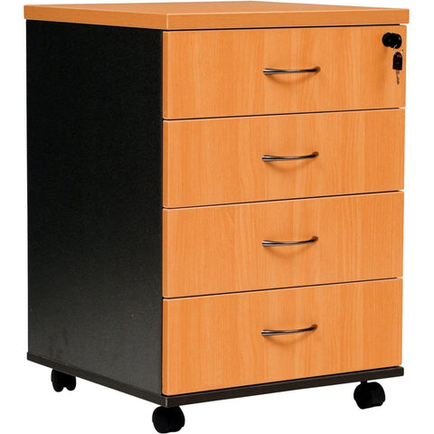 Logan Mobile Pedestal - 4 Drawer