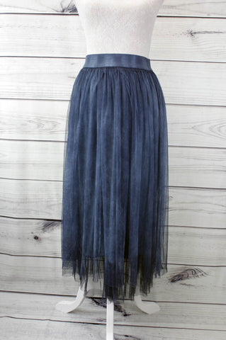 Pleated Tulle Skirt - more colours available