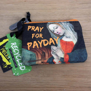 Masterpieces - Zip Purse - Pray for  Payday