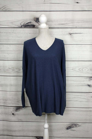 V-neck Soft Knit Jumper - more colours available