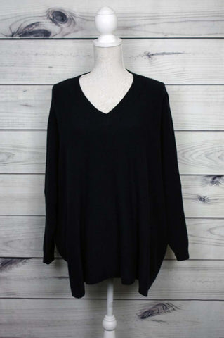 V-Neck Swing Jumper - more colours available