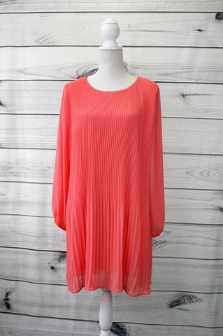 Pleated Dress - more colours available