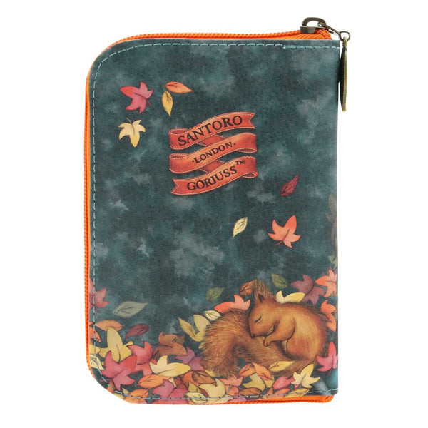 Gorjuss - Folding Shopper Bag - Autumn Leaves