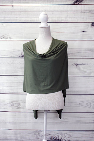 Drape Front Two-Way Poncho - more colours available