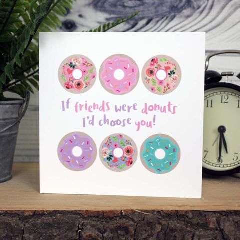 Donut - Friends Card