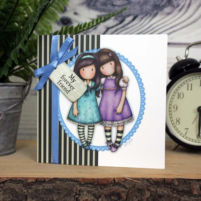 Gorjuss Greetings Card - My Forever Friend