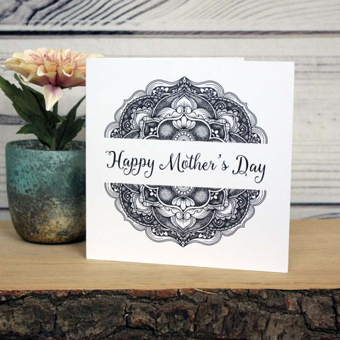 Mandala Card - Happy Mother's Day