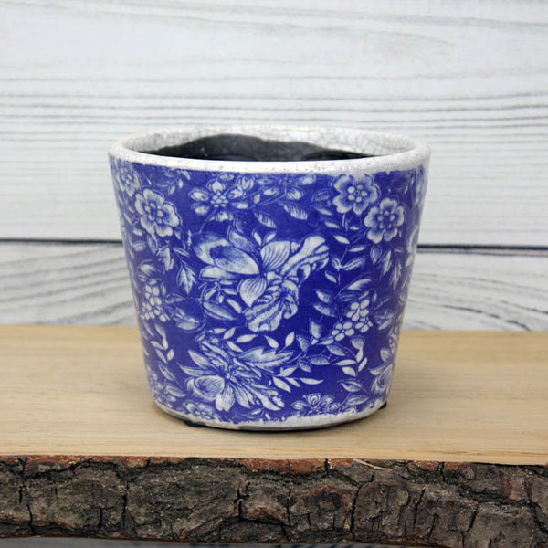 Old Style Dutch Pot - Blue - various designs available