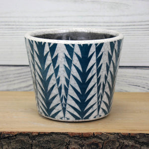 Old Style Dutch Pot - Teal - various designs available
