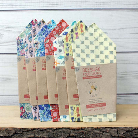 Bee Sweet & Bumble Beeswax Food Wraps - 1 x Large (35x35cm)