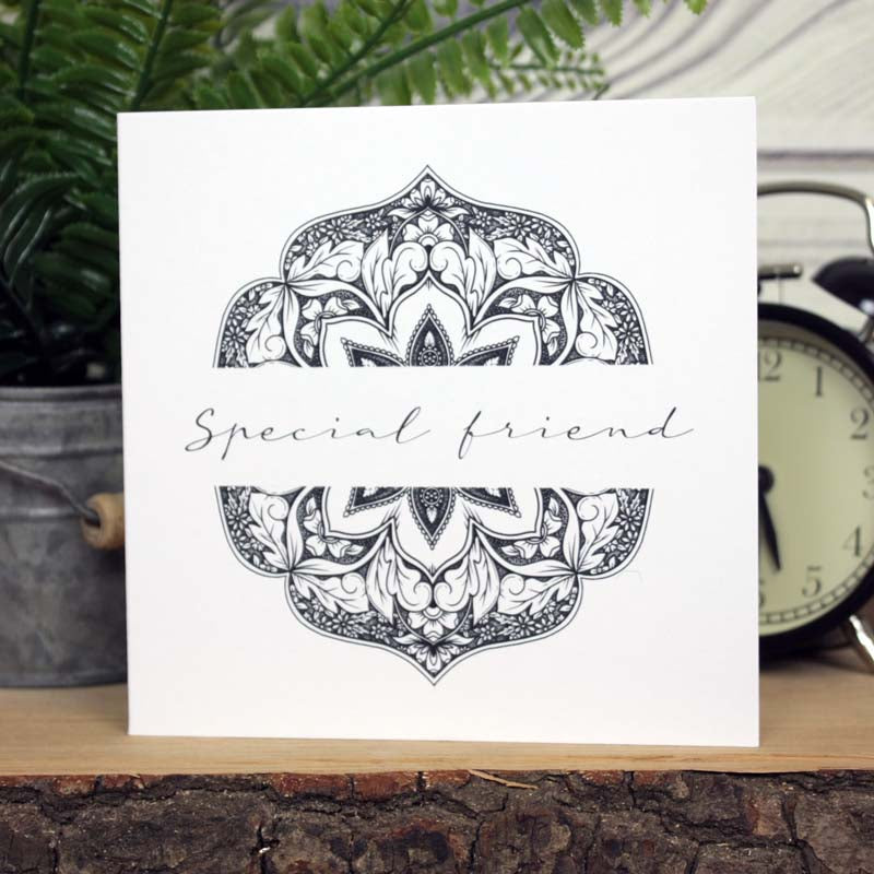 Mandala Card - Special Friend